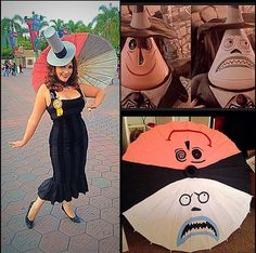 Mayor of Halloweentown Disneybound for dapper day! I love this!