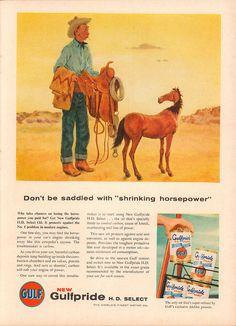 1956 Gulfpride Motor Oil Advertisement Time Magazine June 4 1956   by SenseiAlan