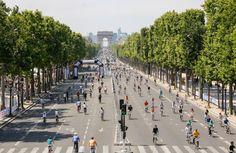 Paris : 1ere journée sans voitures à Paris le 27 septembre ! Prenez date ! #Paris #Vélo #RVenFrance