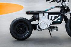 Electric Tricycle, Urban Electric, Bmw Concept, Honda Grom, Generation Z, Mini Bike, Car Wheels, Electric Motor, Vehicles
