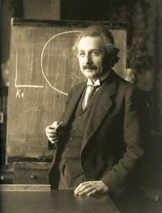 Albert Eintein in 1921