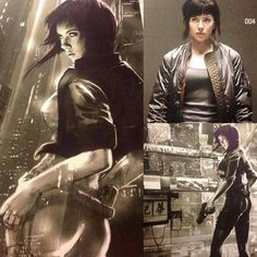 M.A.A.C. – SCARLETT JOHANSSON To Star In Live-Action GHOST IN THE SHELL. UPDATE…