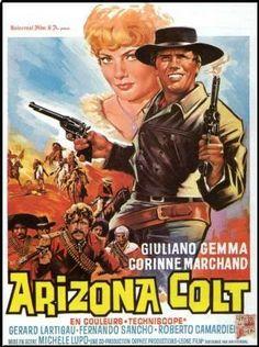 "Man from Nowhere (1966) ""Arizona Colt"" (original title) Stars: Giuliano Gemma, Fernando Sancho, Corinne Marchand ~  Director: Michele Lupo"