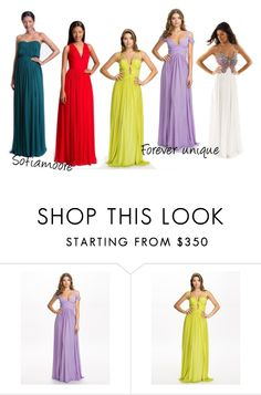 """Promdresses 1"" by isabelle96-1 on Polyvore featuring Forever Unique"