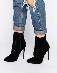 ASOS | ASOS ELTHOR Lace Up Boots