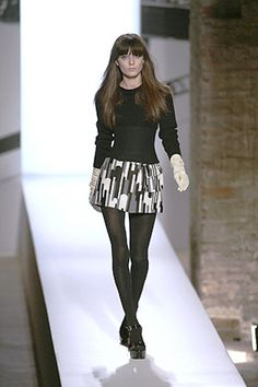 Anna Molinari 2007 - love the corset and the print