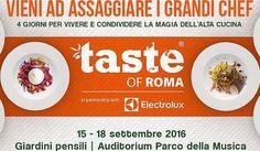Taste of Roma 2016: la cucina d'autore per tutte le tasche…