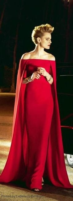 Wear that red number, this evening | LBV S14 ♥✤