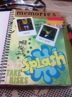 Beach smashbook! Scrapbook