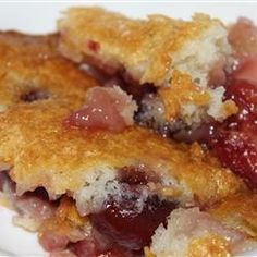 Fresh Cherry Cobbler Allrecipes.com