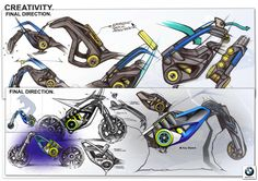 6 MONTHS INTERNSHIP PROJECT realized during my 4th year internship into the BMW Motorrad Design StudioAugust 2014 - January 2015What could be the future of adventure riding ?