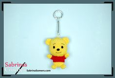 Winnie the Pooh - Free Crochet Pattern - Amigurumi also has other Pooh characters!