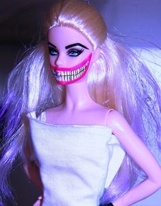 """Oh this is mild.  I got into trouble at my catholic grade school for using Barbie's """"severed"""" head (it was all crazy/creepy looking) as a pencil topper.  Bitch had it comin' Hahaha!!!  --> Crazy shit people do to their Barbies"""