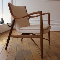 Anything from Danish designer Finn Juhl