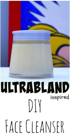 Tutorial on How To make your own Easy DIY LUSH Ultrabland Face Cleanser from The Makeup Dummy