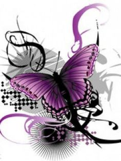 Chiari: Little Missy Two-Shoes and Her BFF Zipperhead love drawing purple butterflies together.