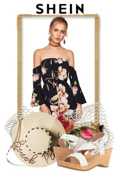 """""""WIN SHEIN CONTEST"""" by pravimmajice ❤ liked on Polyvore featuring Betsey Johnson and Free People"""