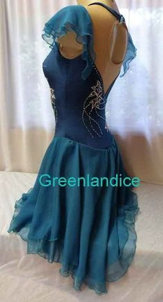 Kimmie design Teal Dance Dress