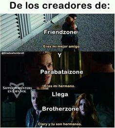 Memes de Cazadores De Sombras - Brotherzone - Wattpad