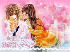 Kyou Koi wo Hajimemasu (Today We'Ll Start Our Love) - Minami Kanan - Wallpaper - Zerochan Anime Image Board Kyou Koi Wo Hajimemasu, Otaku Mode, Manga Artist, Manga Sites, Best Series, Beautiful Couple, Shoujo, Pretty Hairstyles, Anime Love