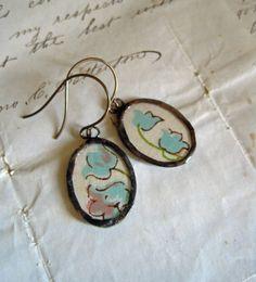 handkerchief earrings
