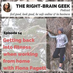 Chatting with @keepingfitsimple about difficulties & baby-steps to gently get back in shape. [link to the podcast in my bio]⠀ ⠀ I discuss with Fiona the difficulty to take care of your body when you start in business and feel like you can't take time out for the gym. Working from home or spending a lot of time on the computer creates problems and Fiona gives you her best tips to avoid them.⠀ ⠀ She is a lovely personal trainer who uses a really gentle approach to get back into fitness and…
