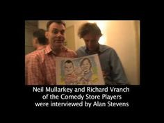 Video of the Caricaturist in London at work live at various events and parties.