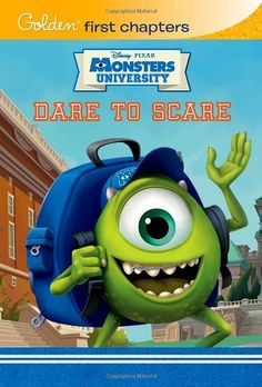 Dare to Scare (Disney/Pixar Monsters University) (Golden First Chapters) @ niftywarehouse.com #NiftyWarehouse #Disney #DisneyMovies #Animated #Film #DisneyFilms #DisneyCartoons #Kids #Cartoons