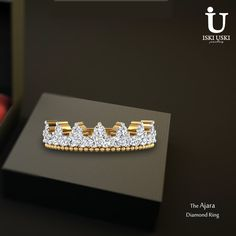 Find the latest RINGS designs at best price in India Here can also get attractive discount on all jewellery items.     #DiamondRings #GoldRings #Rings #IskiUski