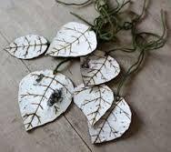 Image result for how to make deer birch bark ornament