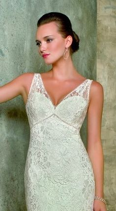 Blu #4613 Size 10 White $315 www.BridalOutletofAmerica.com