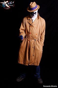 Claudio Boguma as Rorschach from Watchmen. #cosplay #watchmen