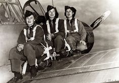 WASP. I ADORE the WASPs. Women Airforce Service Pilots. The original BAMFs