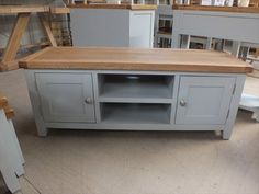 Denby Country Painted Plasma TV Unit