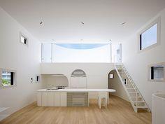 日本FUTURE STUDIO建築師事務所 以光之容器為家庭注入溫暖的 LIGHT STAGE HOUSE 私人住宅 | 準建築人手札網站 Forgemind ArchiMedia