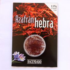 (http://www.spanishdoor.com/pure-saffron-threads-0-375-grams-superior-quality-safran/) #PureSaffronThreads #SuperiroQualityAzfran #MadeInSpain