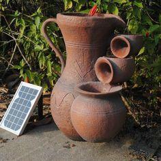 Cascade solaire en céramique