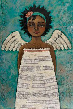 """""""Speaks with Grace"""" Original Painting by ©Teresa Kogut"""