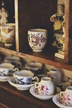 En casa de un coleccionista.....