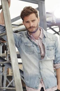 Christian Grey - Jamie Dornan courtesy of Jamie Dornan online. Jamie Dornan, Christian Grey, Dulcie Dornan, Mr Grey, Fifty Shades Of Grey, Attractive Men, Perfect Man, Gorgeous Men, Beautiful