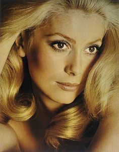 Catherine Deneuve, photographed by David Bailey for French Vogue, 1970