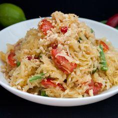 Som Ta – Green Papaya Salad and a South Asian-Inspired Blog Hop