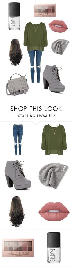 """perfect for the chilly weather"" by cits412 on Polyvore featuring Topshop, WearAll, Converse, Lime Crime, Maybelline and NARS Cosmetics"
