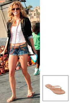 Tkees Foundation Leather Sandal in Many Colors - as seen on AnnaLynne McCord
