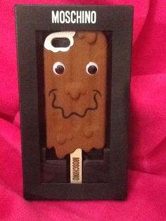 New $85 Moschino Iphone 5 5s 5c Phone Case Ice Cream Bar Popsicle Apple Sold Out #Moschino