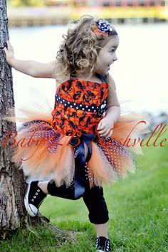 Halloween Pageant Tutu Costume