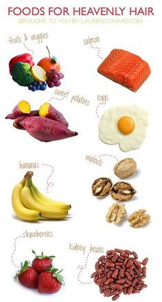 foods for heavenly hair