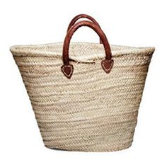 Hand Woven Palm Carryall