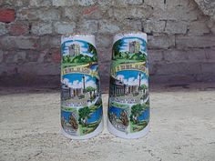 Barco Ireland Salt & Pepper Shakers Vintage Souvenir