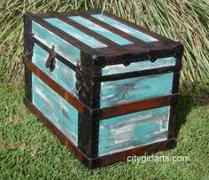 Carribean Painted Trunk